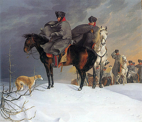 """Kruger's """"Prussian Cavalry"""" 1821 (note the bottom left corner)"""