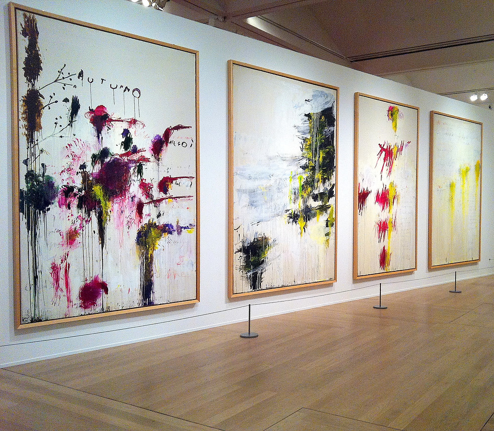 Cy Twombly: Quattro Stagioni (Four Seasons), Tate London