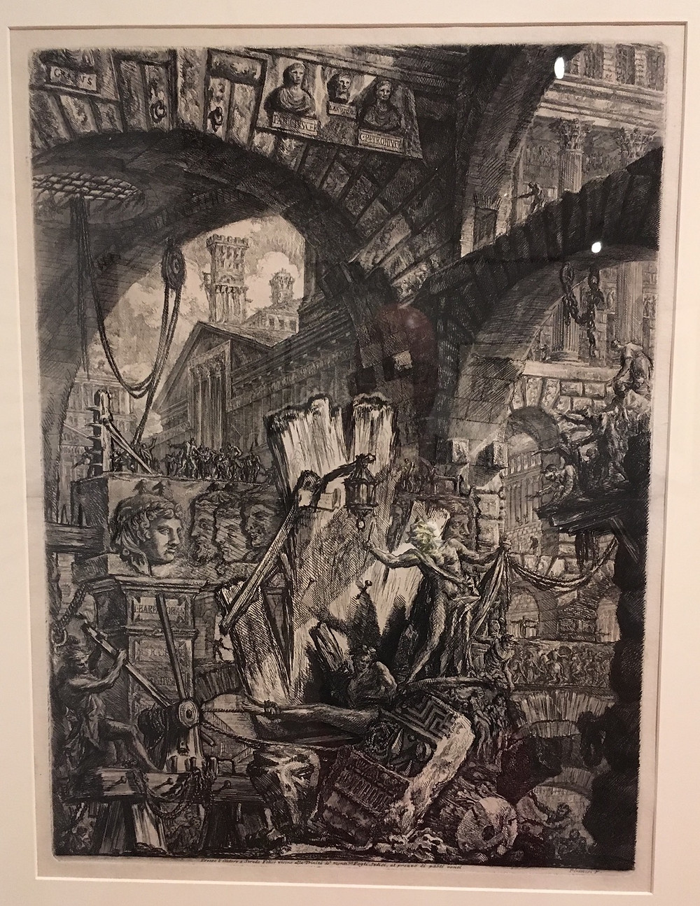 "Piranesi: Man on the Rack (from ""Imaginary Prisons"")"