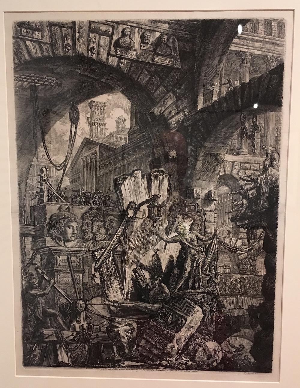 "Piranesi: Man on the Rack (from ""Imaginary Prisons"")"