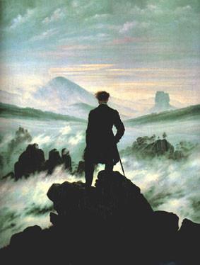 Caspar David Friedrich's romantic Wanderer