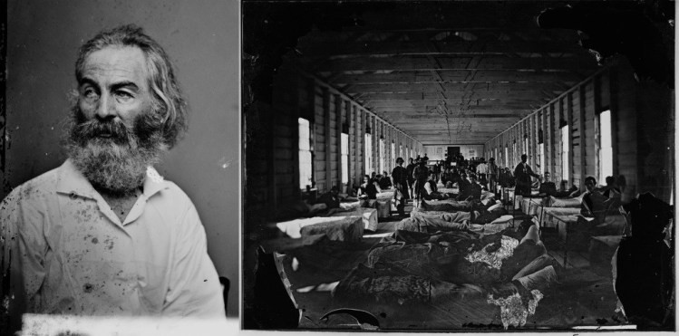 Walt Whitman, poet and Civil War nurse