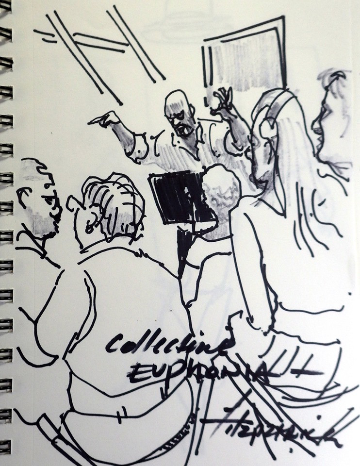 Eric Fitzpatrick sketch from L2P at TMA, 9.22.19