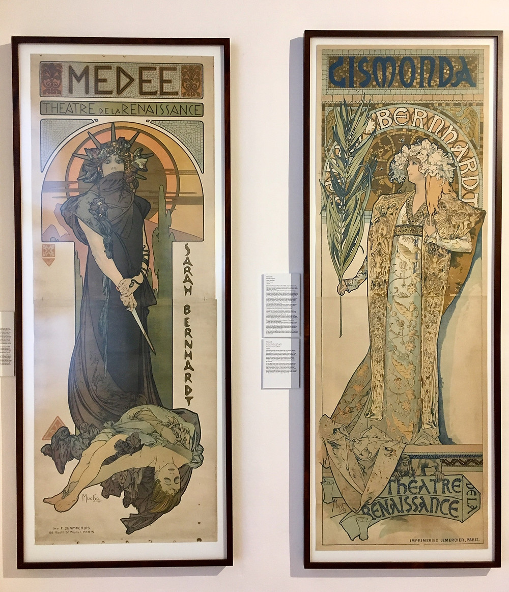 Mucha posters for Bernhardt