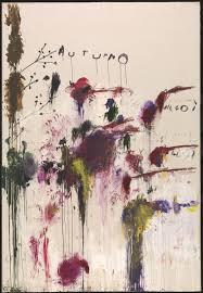 Twombly, Autumn (Four Season, Tate version)