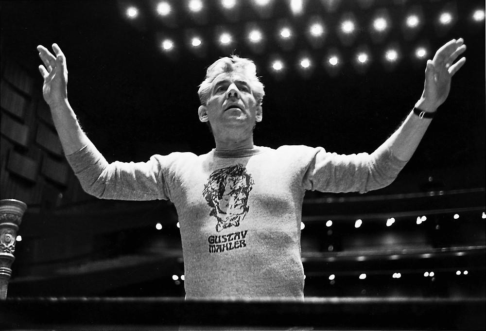 Bernstein rocking the Mahler t-shirt
