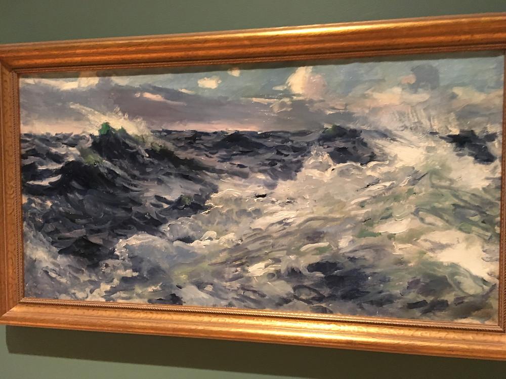 William Dodge, Seascape (1920). Taubman Museum