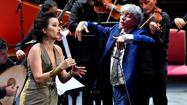 "Anna Prohaska in ""Serpent and Fire"" at BBC Proms"