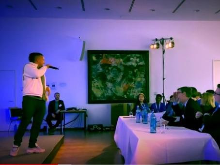 JP Morgan Schools challenge turns into an interactive Human Orchestra