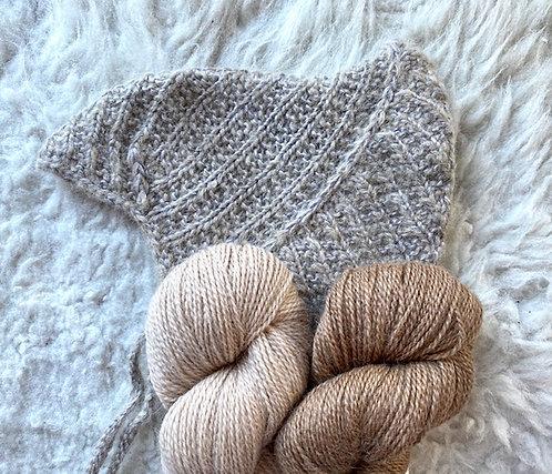 LOLA-Mütze, Wollpaket/Babyalpaka von BC Garn, ab