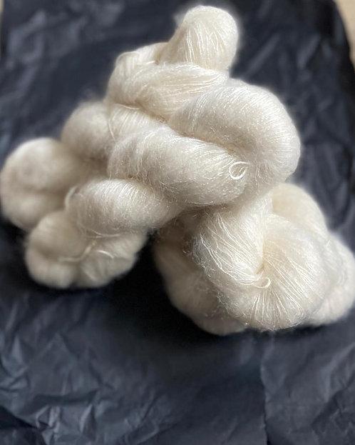 Mohair&Seide, naturbelassen, von Kremke Soul Wool