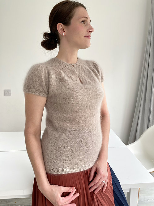 MARLA-Bluse aus Mohair, digitale Anleitung