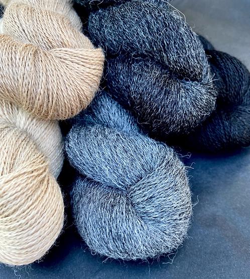Baby Alpaca Lace, naturbelassen, von Kremke Soul Wool