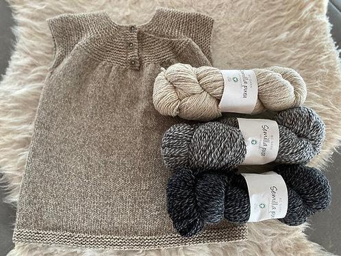 POLA-Kleid/Baby&Kind, Wollpaket/Semilla Pura, ab