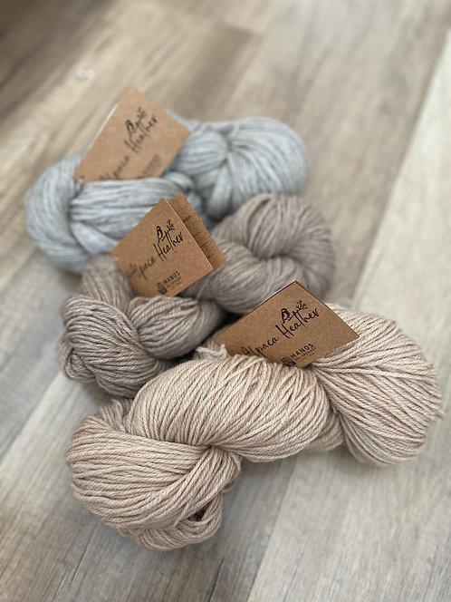 Alpaka & Wolle, naturbelassen, von Manos del Uruguay