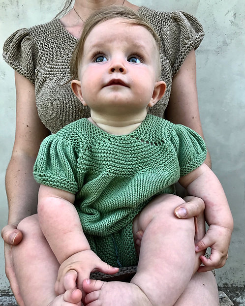 MALA-Bluse/Baby, Anleitung