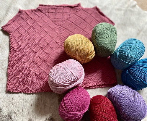 LACY-Top/Kind, Wollpaket/Merino Cotton, ab