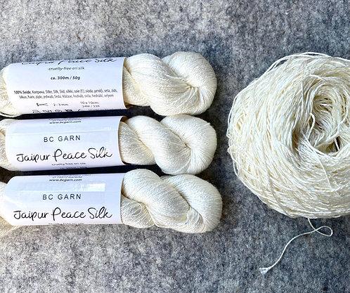 Jaipur Peace Silk, naturbelassen, von BC Garn