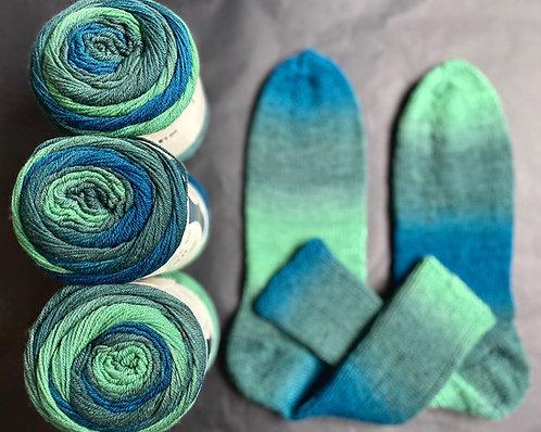 Step Merino/Sockenwolle, GOTS, von Austermann