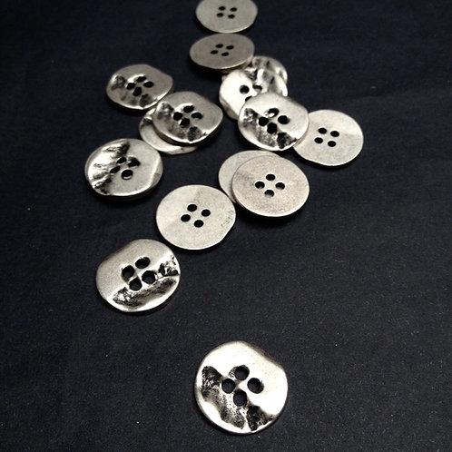 Metallknöpfe, altsilber ab