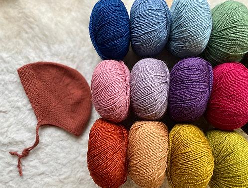 ELSA-Mütze, Wollpaket/Semilla , ab