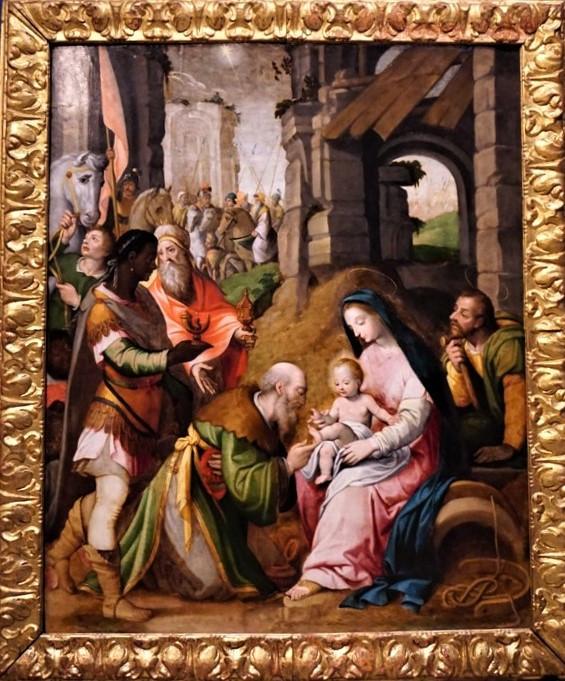 La Tabla de la Epifanía. Paolo Scheppers. Museo Provincial. Zaragoza.
