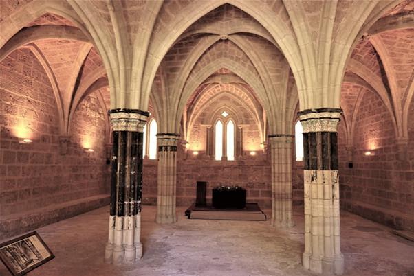 Monasterio cisterciense de Santa María de Piedra. Nuévalos (Zaragoza)