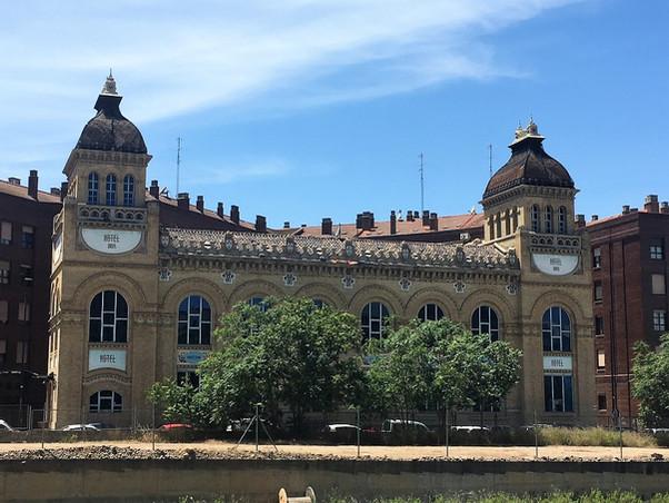 La Antigua Fábrica de Chocolates Orús. Zaragoza. Un edificio para el recuerdo.