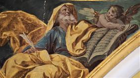 Pinturas de Francisco Bayeu y Subías. Sacristía de la iglesia de Santiago el Mayor. Zaragoza.