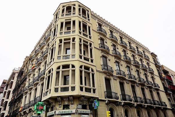 Casa Retuerta. Paseo de Sagasta nº 13. Zaragoza.