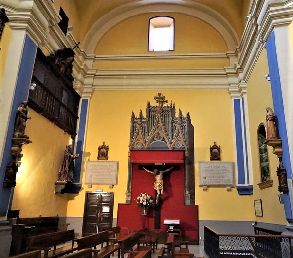 El Cristo de los Artistas. Juan de Anchieta. Iglesia de Nuestra Señora de Gracia. Zaragoza.
