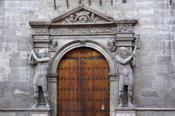 Palacio de los Condes de Morata. Zaragoza.