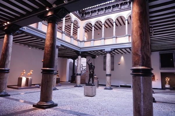 Palacio de Sáenz de Cortes, conocido como Palacio Argillo. Hoy Museo Pablo Gargallo. Zaragoza.