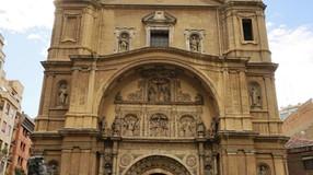 Portada de la basílica de Santa Engracia. Zaragoza. Un referente del Renacimiento aragonés.