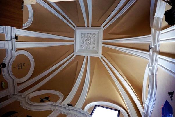 """La escalera """"dieciochesca"""" de la calle Predicadores nº 70. Zaragoza."""