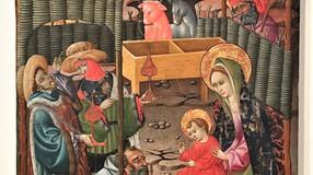 Tabla de la Epifanía, obra de Blasco de Grañén. Museo de Zaragoza.