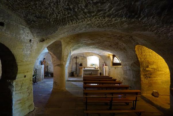 """Santa María de Valverde. La """"catedral"""" de las iglesias rupestres del valle de Valderredible"""