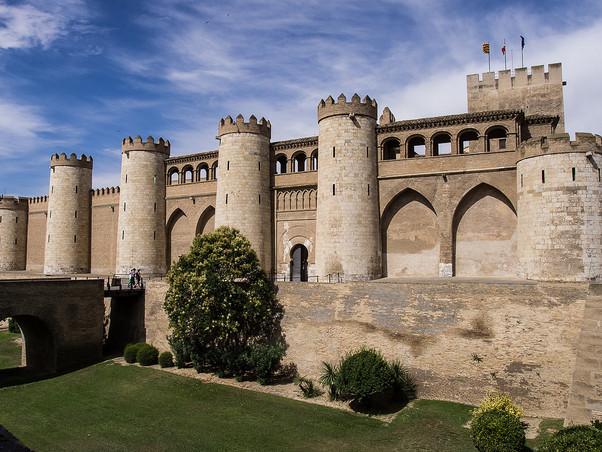 EL PALACIO DE LA ALJAFERÍA. ZARAGOZA