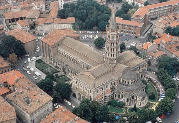 La Basílica de San Saturnino de Toulouse. Patrimonio de la Humanidad.