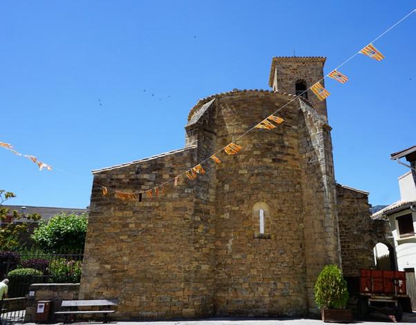 Iglesia de san Esteban. Sigüés (Zaragoza).