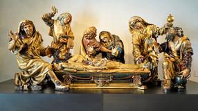 Santo Entierro. Juan de Juni. Museo de Escultura de Valladolid. Obra cumbre del siglo XVI español.