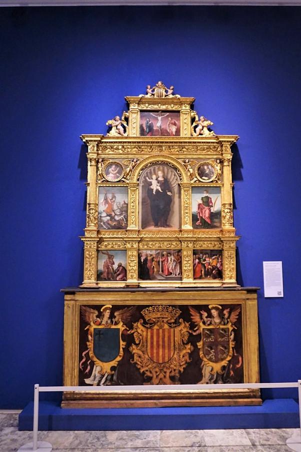 Retablo de la Cárcel de Manifestados.  Jerónimo Cosida. Museo Provincial de Zaragoza.