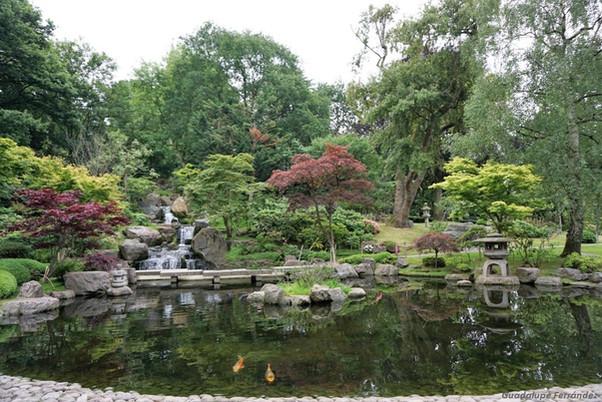 Kyoto Garden, un jardín japonés en Londres.