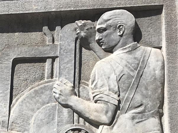 Relieves de la Confederación Hidrográfica del Ebro. Félix Burriel. 1942.