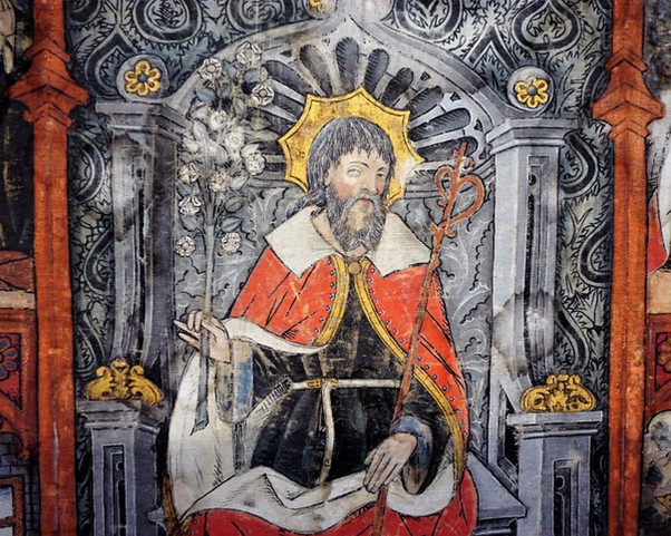Retablo de san José de la iglesia parroquial de Albalate del Arzobispo (Teruel). Museo de Zaragoza.