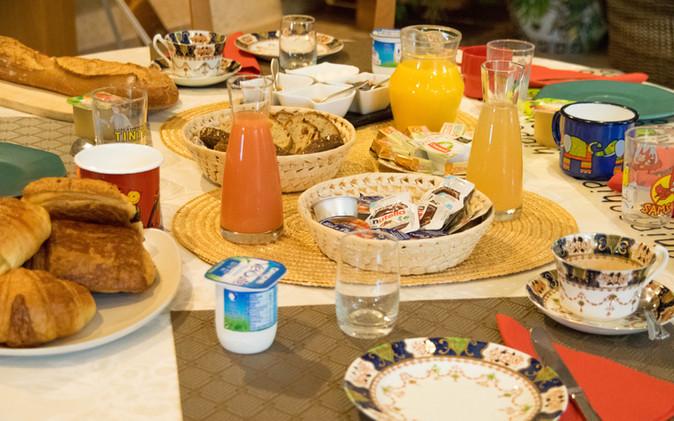 Un petit-déjeuner international