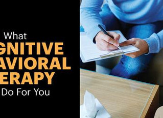 What is Cognitive Behavioural Therapy?