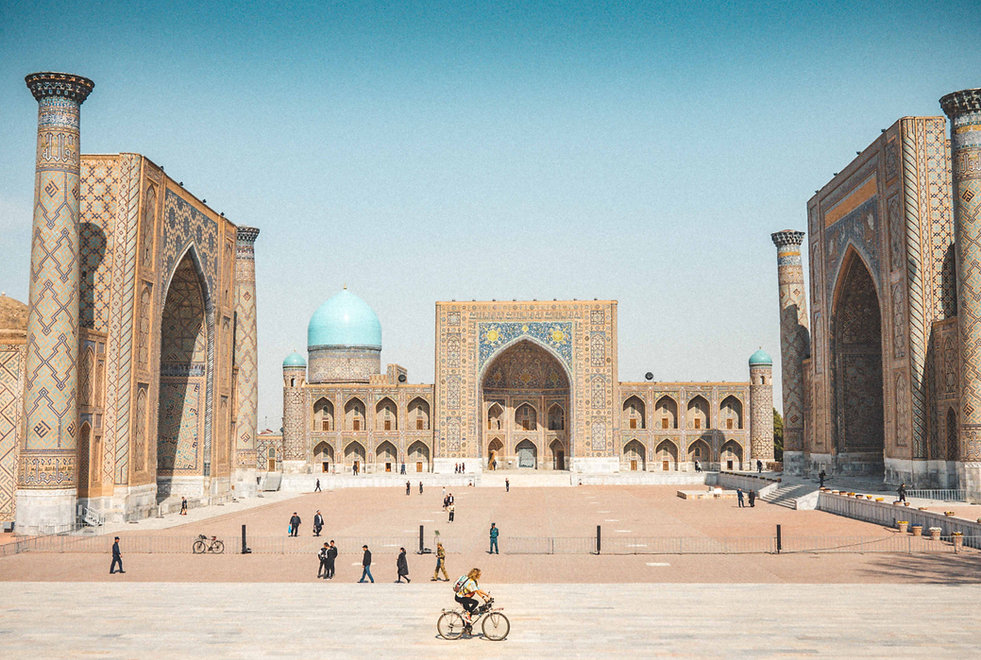 Cycling-samarkand