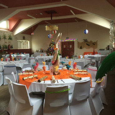 Christmas Tropical Party