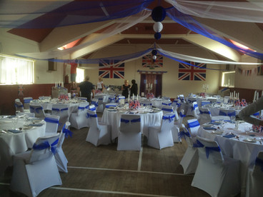Fantastic night in the Memorial Hall in celebration of the Queens 90th Birthday.